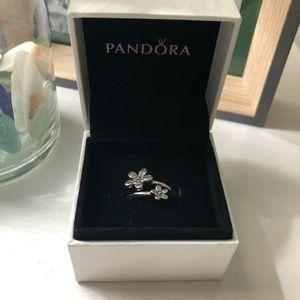 Silver Pandora Ring *Never Worn* Size 6 (52)